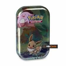 Pokemon Kanto Friends Mini Tin - Eevee - Trading Card Game Collectors Case