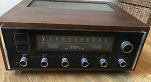 McIntosh MR 78 FM Stereo Tuner Classic Wooden Case