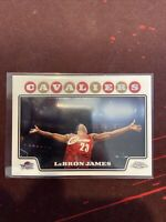 2008-09 Topps Chrome RARE Chalk Toss LeBron James #23 Lakers MVP