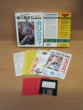 World Class Rugby, Commodore Amiga, 1991, Top-Zustand