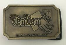 SCOUTS OF ECUADOR - 2 INTERAMERICAN JAMCAM & 15 NATIONAL JAMBOREE SCOUT BUCKLE
