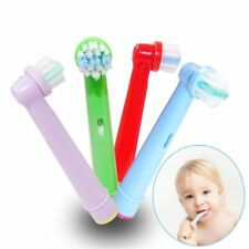 Oral-B PRECISION CLEAN Toothbrush Replacement Brush Heads for Kids GENUINE 4 ps