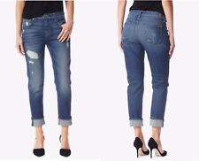 7 FOR ALL MANKIND Relaxed Skinny NWT Destroyed Women's Jeans Size 24 RRP $300