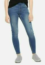 Justice Girls Destructed Pull On Jean Leggings - NEW NWT
