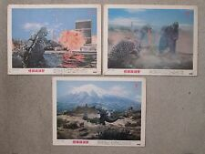 Destroy All Monsters  -   Original  1968 Japanese   Lobby Cards - Godzilla