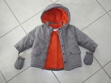 Manteau gris Vertbaudet 18 mois comme neuf !