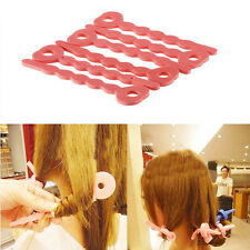 HOT Not To Hurt The Hair Curling Curls Sleeping Beauty Sponge Hair Curlers X 6