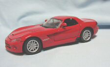 2003 Dodge Viper Srt/10 Diecast Collectible Car Hard Top Red 1:24 Motor Max