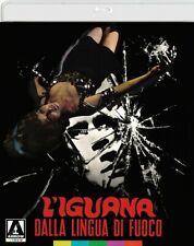 L'IGUANA DALLA LINGUA DI FUOCO BLU RAY AUDIO ITA special ed.doppio disco