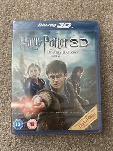 Blu-ray 3D Harry Potter And The Deathly Hallows Part 2 New And Sealed