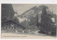 Schloss Wimmis Berner Oberland Switzerland Vintage Postcard 363b