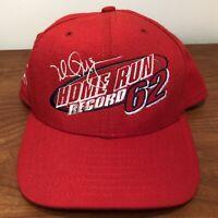Mark McGwire Hat Snapback Cap Red Vintage 90s MLB Baseball Cardinals Home Runs