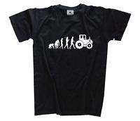 Standard Edition Traktor Traktorist Bauer Feldarbeit Evolution T-Shirt S-XXXL
