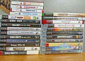 Video Games Galore. PS3, Original Xbox, 3DS. You pick.
