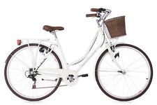 Damenfahrrad 28 Zoll Stowage weiß Frontkorb Bike Damen 6-Gänge RH 51 cm 118C