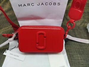 Genuine Marc Jacobs Snapshot DTM Small Camera Bag Crossbody red multi sales..