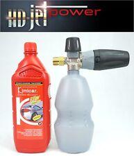 Lance mousse canon à mousse  M22 x 1,5 femelle pour Karcher + 1 L shampoing auto