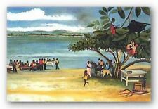 Cool Runnings Limited Edition Bernard Stanley Hoyes African American Art 24x18