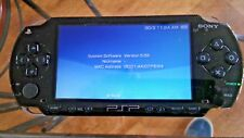 Sony Playstation Portable PSP 1000 +10 games/movies + new charger + new battery