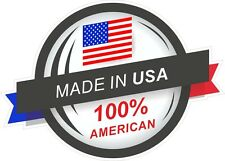 Made in the usa 100% american rosette & stars & stripes drapeau vinyle autocollant voiture