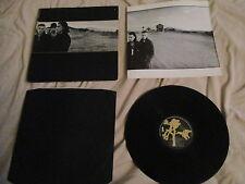 U2 rattle and hum + lyric Inserts GATEFOLD LP record