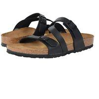 Authentic Birkenstock Salina Birko-Flor Sandals Black 23121 women summer