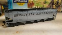 Athearn Roundhouse Western Maryland coal  hopper car,  with load