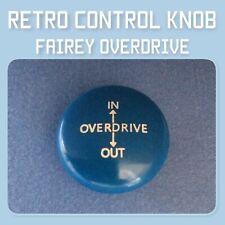 Land Rover Control Knob Fairey Overdrive (M12x1.75) Series 1, 2, 3 RTC7158 blue