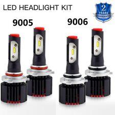 4x 9005 + 9006 For Chrysler PT Cruiser 2001-2010 LED Hi/lo Headlight Combo Bulbs