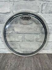 "More details for evans level 360 ec2 clear tom 12"" size drum head skin"