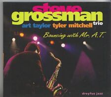 STEVE GROSSMAN TRIO    CD  BOUNCING WITH MR. A. T.