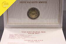 Vatikan 2€ Sede Vacante Sedisvakanz 2013