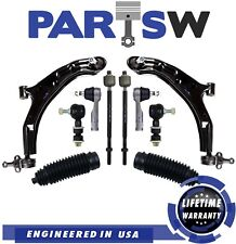 10 New Pc Suspension Kit for Nissan Sentra / Lower Control Arms,Tie Rod Ends