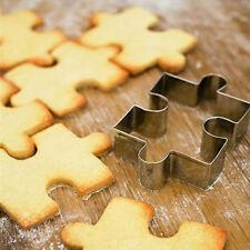 1pc Puzzle in Acciaio Inox Forma Cookie Cutter Stampo Decorazione Torte Fondente Strumento