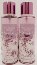 2 VICTORIA'S SECRET LOVE SPELL FROSTED FRAGRANCE MIST 8.4oz NEW!