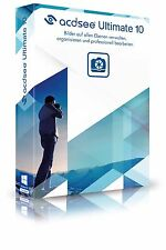 ACDSee Ultimate 10 CD/DVD ACDSee Systems  EAN 4025461004646 Bilderbearbeitung