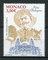 Monaco 2018 MNH Feodor Chaliapin Opera Singer 1v Set Music Stamps