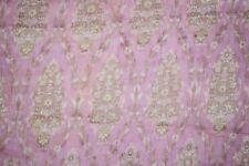 Indian Golden buy 10 get 8 free Pure Tussar Silk Sari Zari Hand Woven Saree
