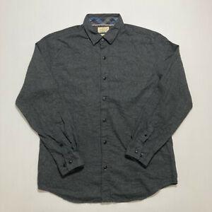 Original Weatherproof Vintage Mens Flannel Shirt Size L Casual Button Up Shirt