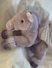 Pegasus Plush Soft Lilac Purple Glitter Hoof Iridescent Wings Toys R Us