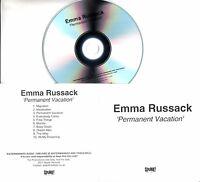 EMMA RUSSACK Permanent Vacation 2017 UK 10-trk promo test CD