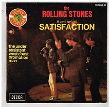 "The ROLLING STONES   Satisfaction  serie Golden hit parade      7""  45 tours SP"