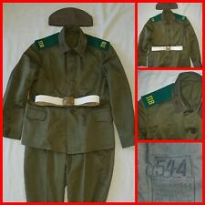Russian Soviet Army tunic  shirt belt hat pants boards KGB Border Guards 54