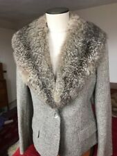 Vintage Genuine Squirrel Natural Fur Collar for Sweater Coat Suit 36""