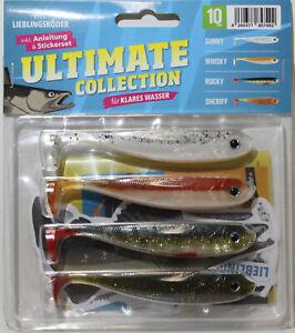 Lieblingsköder Ultimate Collection Gummifische (klares Wasser)