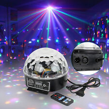 LED RGB Discokugel Lichteffekt DJ Automatisch LED Party BarPubs Fernbedienung