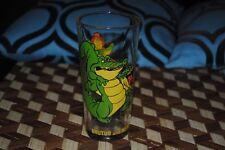 "Disney Nero Brutus Crocodiles Madame Medusa Rescuers Vintage Pepsi Glass 6"" 1977"