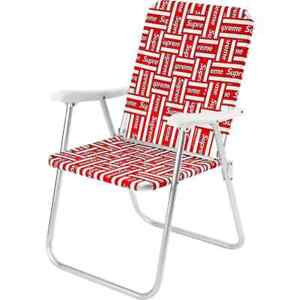 Supreme Lawn Chair Red SS20 New