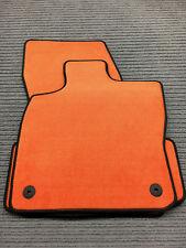 $$$ Original Lengenfelder Fußmatten passend für Seat Ateca + ORANGE + NEU $$$
