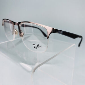 Ray Ban Eyeglasses Frame with Case RB 6362 2502 Black 53-19-145